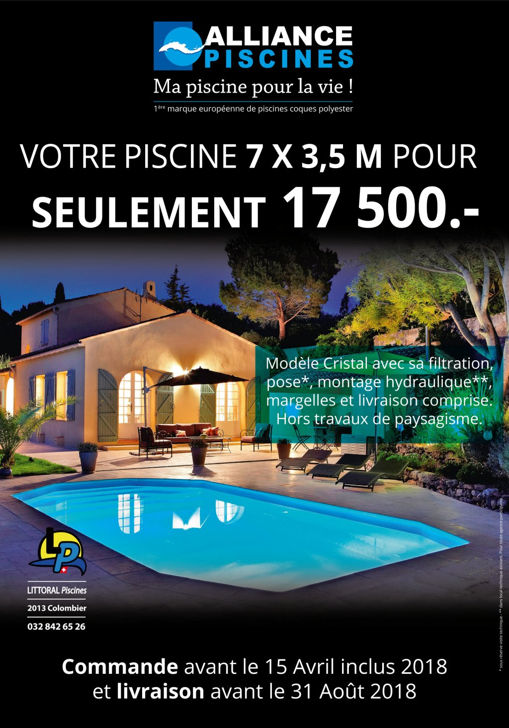 alliance piscine modele cool alliance piscine nos avis alliance piscine marignane with alliance. Black Bedroom Furniture Sets. Home Design Ideas